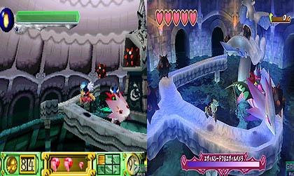 Klonoa Door to Phantomile antes y despues