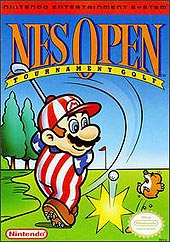 NES Open Tournament Golf y ninja spirit