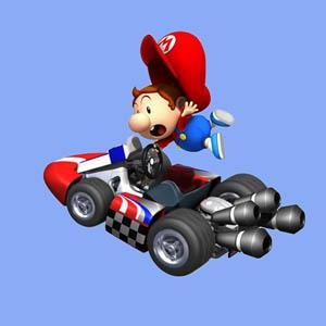 El nuevo concurso de Mario Kart Wii combina piruetas y nieve