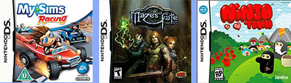 Ninjatown, MySims Racing y el magnífico Mazes of Fate DS