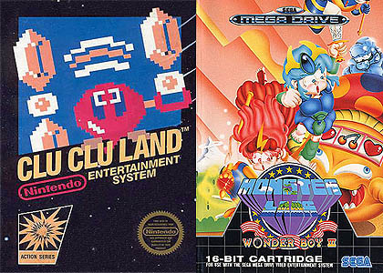 clu clu land wonder boy III monster lair juegos gratis